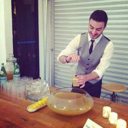 The Annex's infectiously cool vibe even charmed the bartender