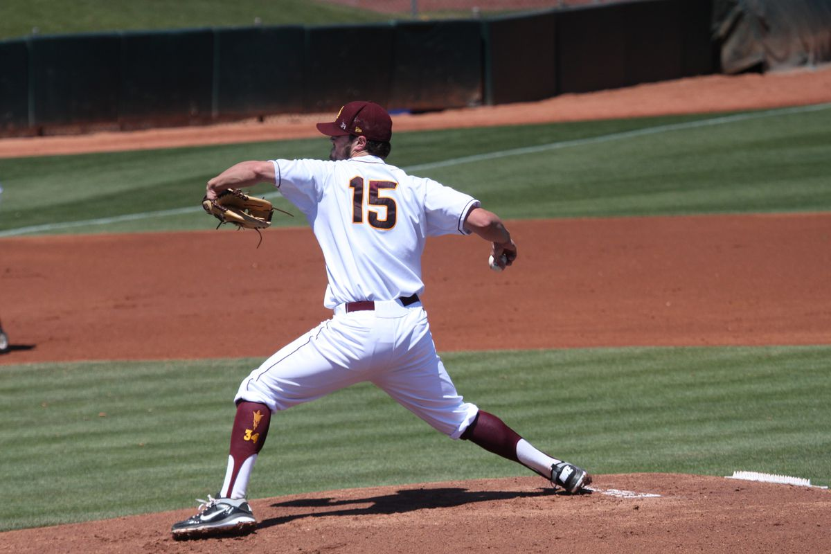 Junior pitcher Darin Gillies threw a career-high seven innings Sunday afternoon but didn't pick up the victory.
