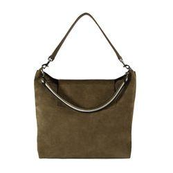 Urban Bucket Bag in Suede, $645