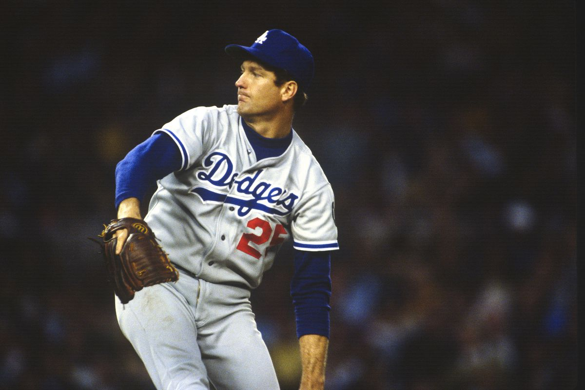 Tommy John pitches for the Dodgers in 1978, four years after he underwent the surgery now named for him