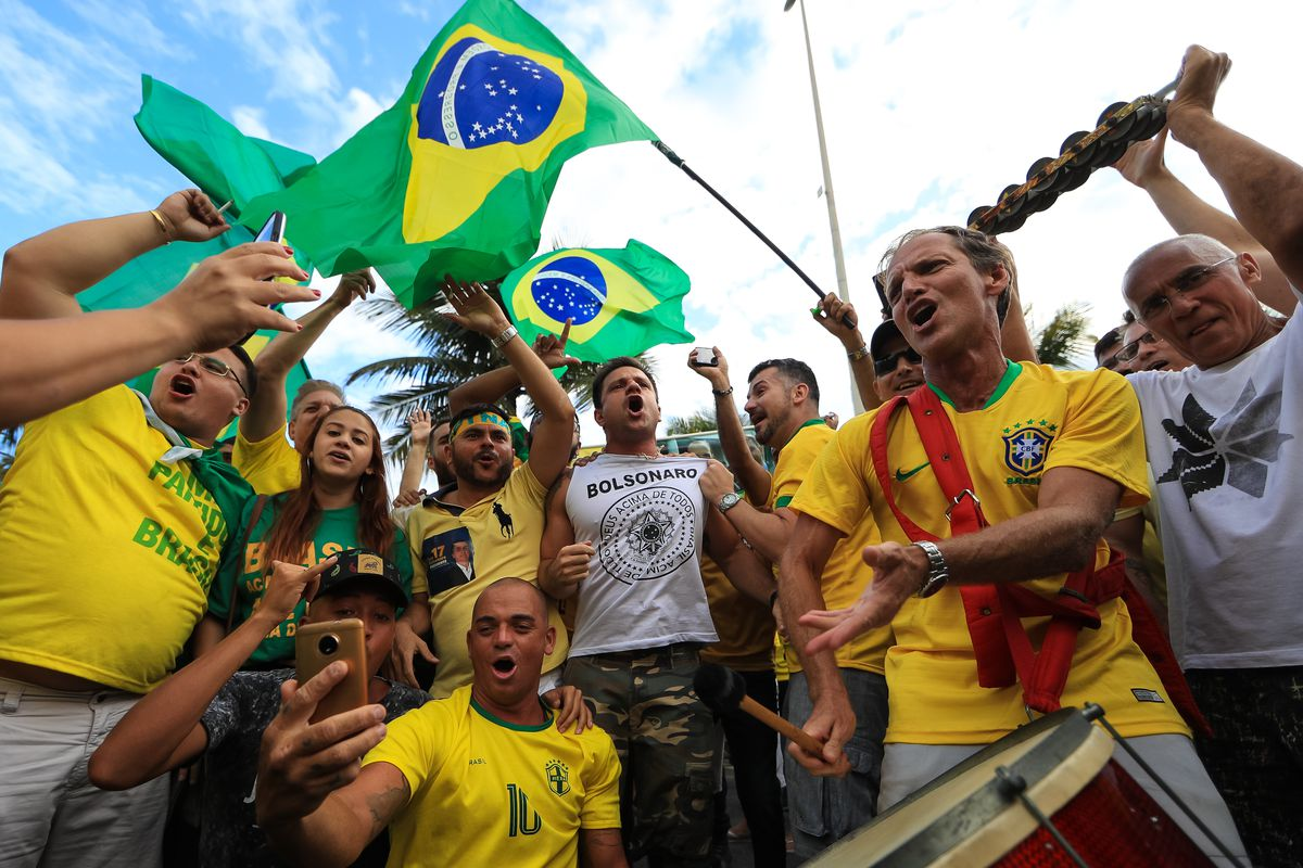 Brazilians Vote In Presidential Election