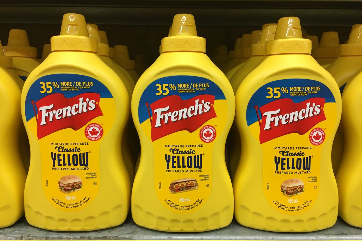 French mustard brand. Frenchs is an American brand of...