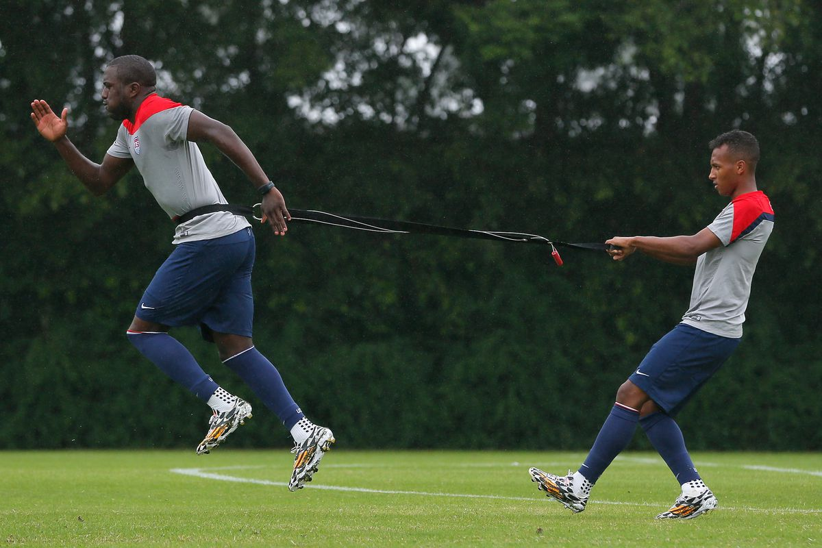 There's nothing holding Jozy back in his quest for goals in the 2014 World Cup.