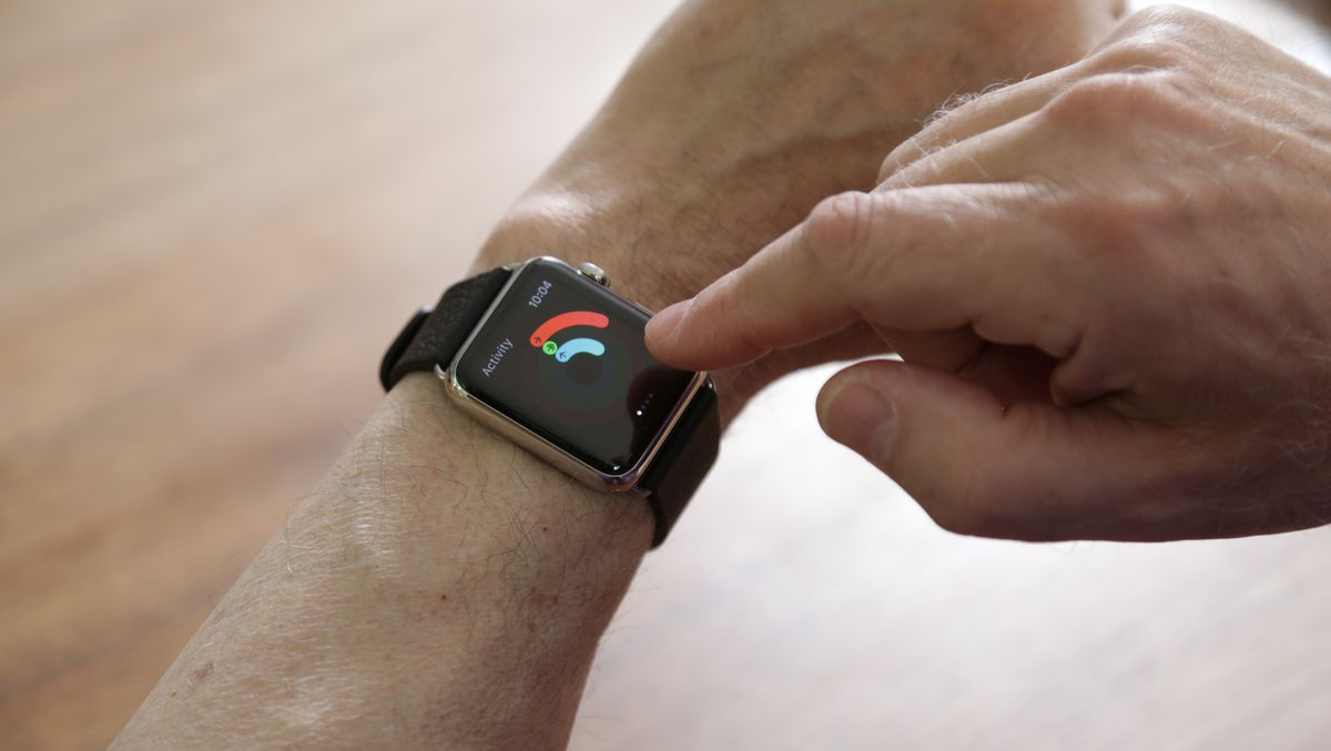 The fitness app on the Apple Watch