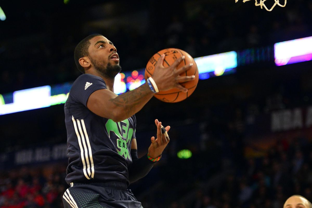 5005ea1f74f Kyrie Irving puts on a show