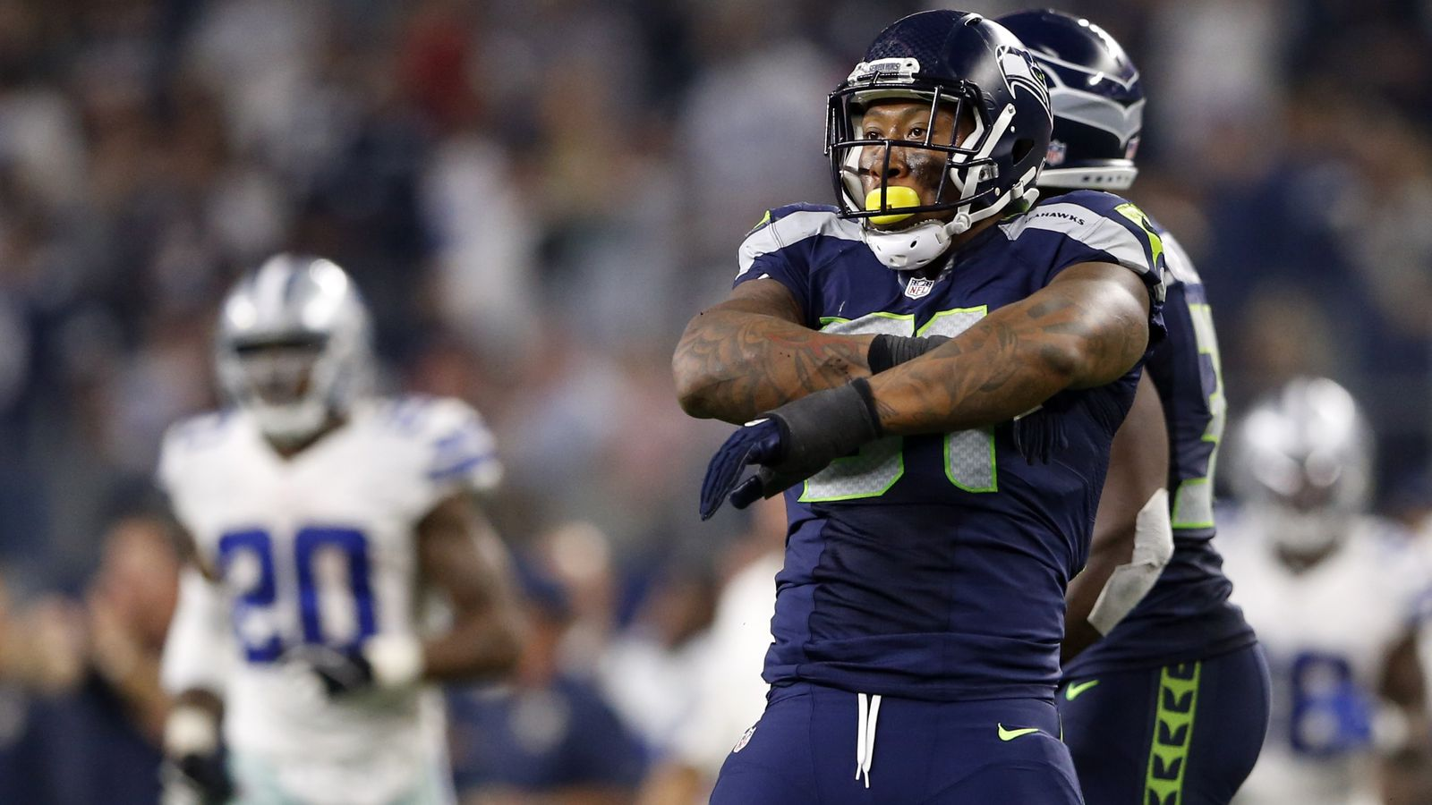 Bruce Irvin Set To Sign With The Oakland Raiders
