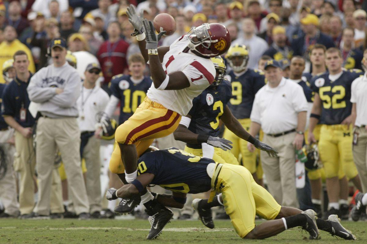 MIchigan v USC in Rose Bowl