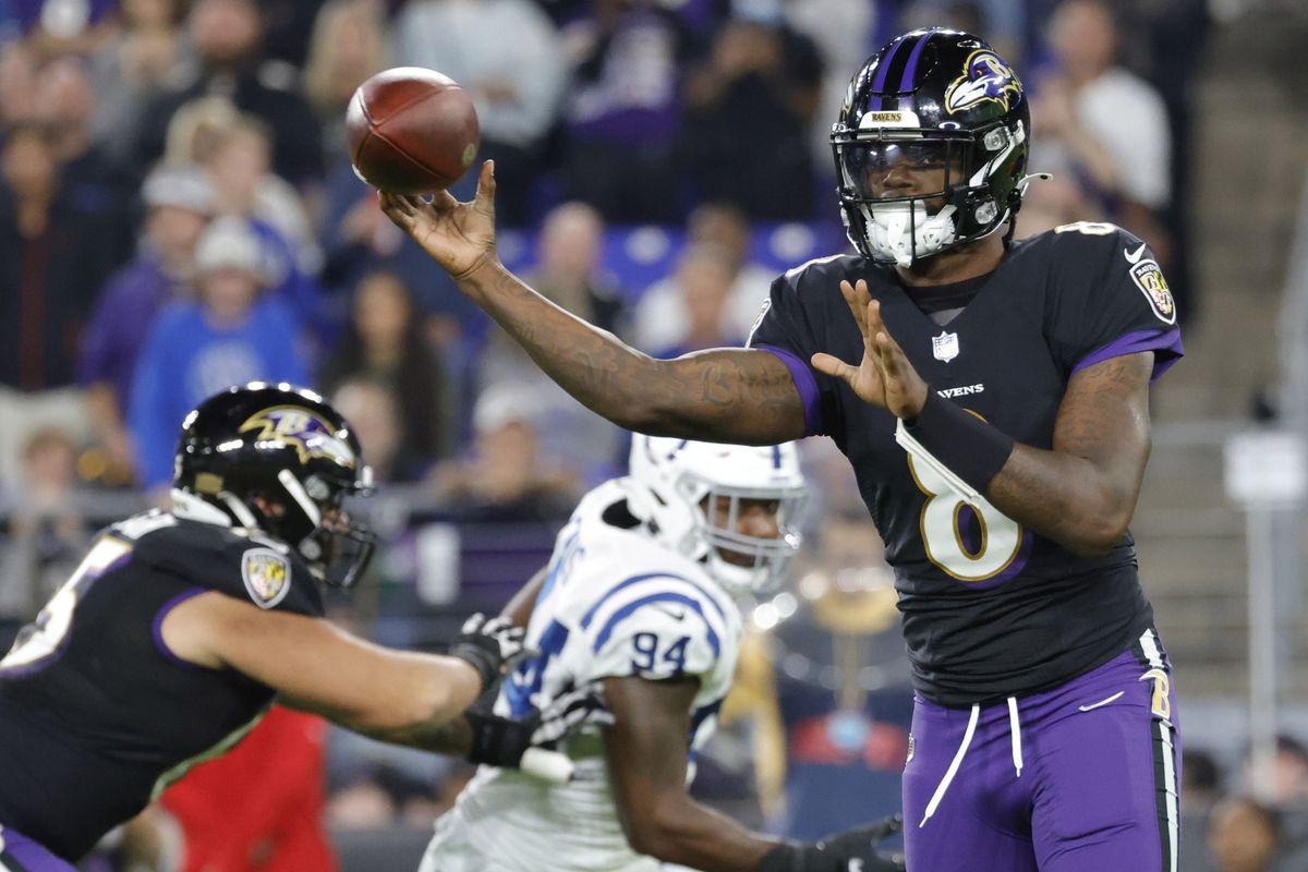 NFL: Indianapolis Colts at Baltimore Ravens