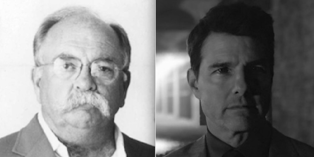 That's Wilford Brimley on the left.
