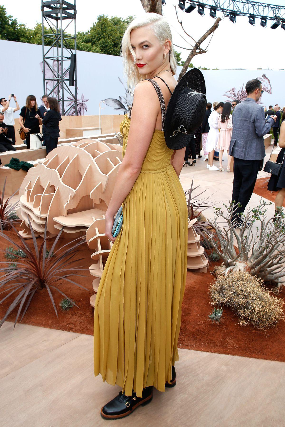 Karlie Kloss in Dior.