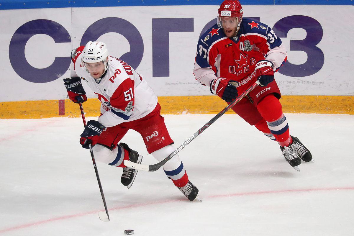 KHL Western Conference Semifinal, Leg 7: CSKA Moscow vs Lokomotiv Yaroslavl