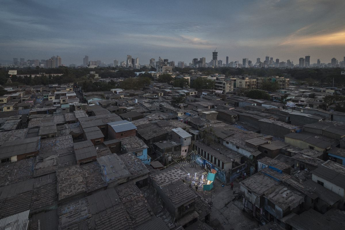 Aerial Dharavi