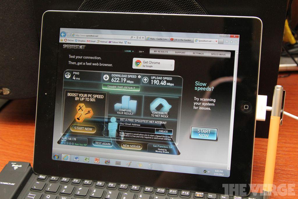 OnLive Desktop Plus has the fastest (virtual) web browser