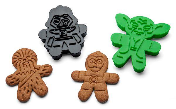 Star Wars gingerbread cookies