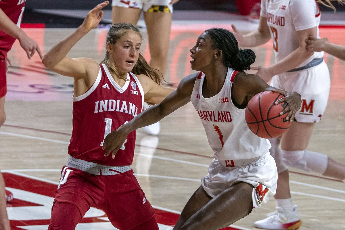COLLEGE BASKETBALL: JAN 04 Womens - Indiana at Maryland