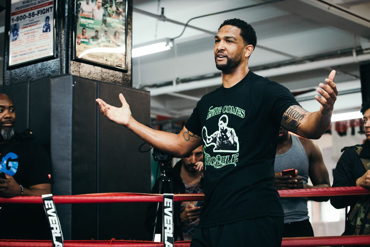 Dominic Breazeale Gary Russell Jr More Speak At Media Workouts