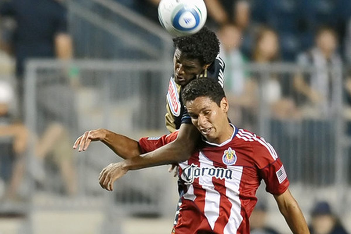 Cortez, back when he was with Chivas USA in 2011.