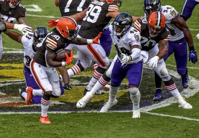 NFL: SEP 13 Browns at Ravens
