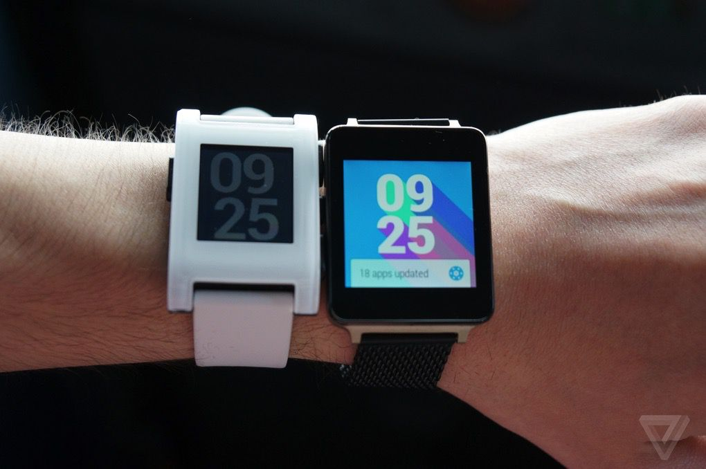 smartwatch at ifa with pebble