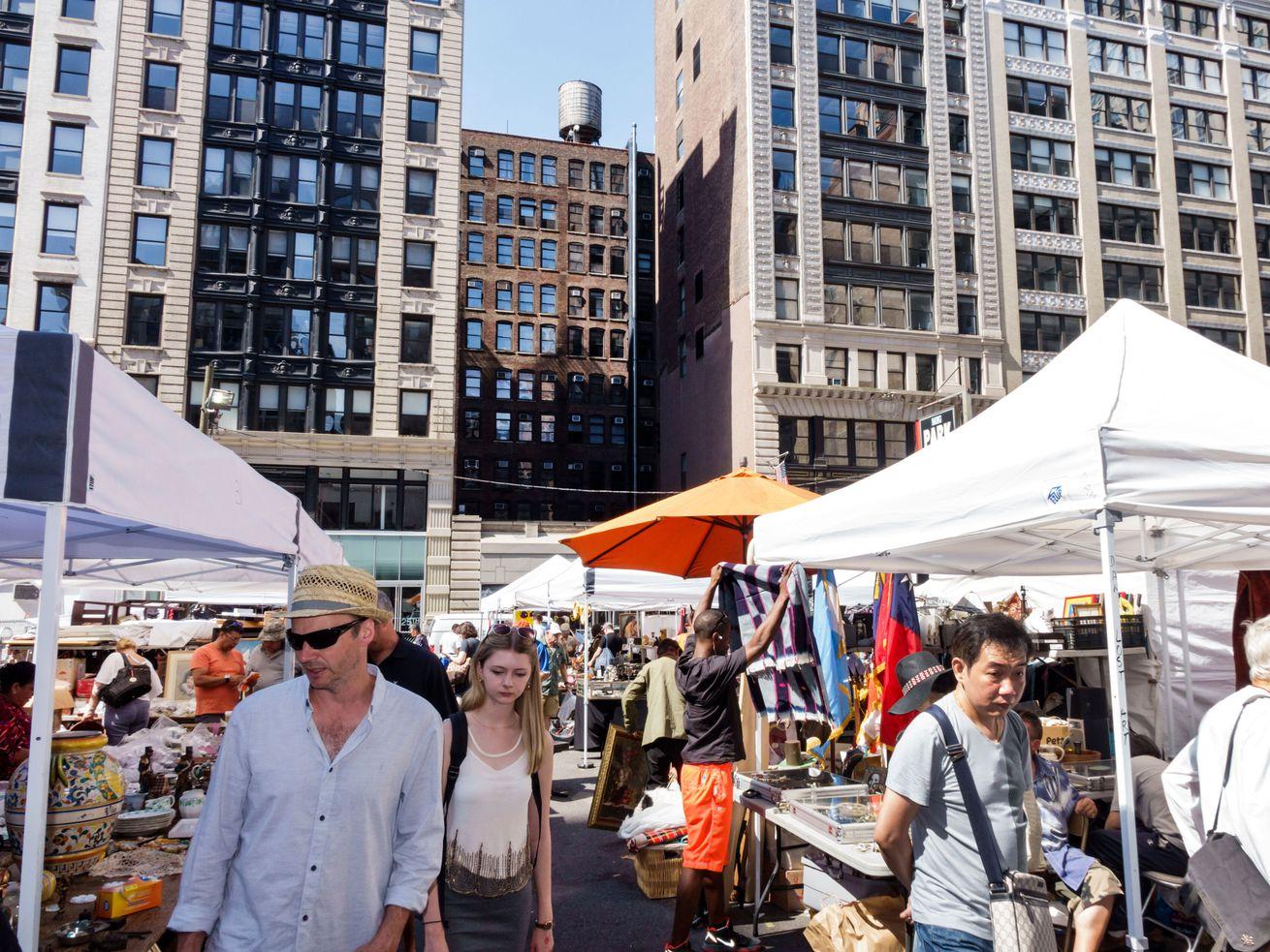 The Chelsea Flea Market Comes Back on September 12