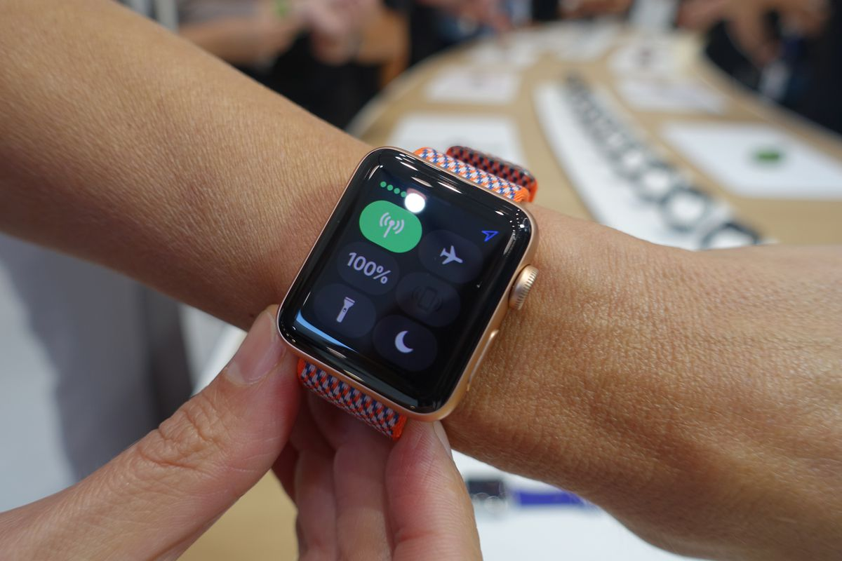 The LTE-enabled Apple Watch will cost $10 a month on US carriers