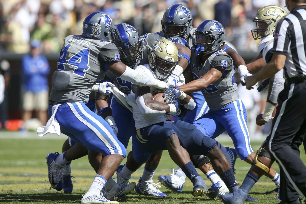 NCAA Football: Duke at Georgia Tech