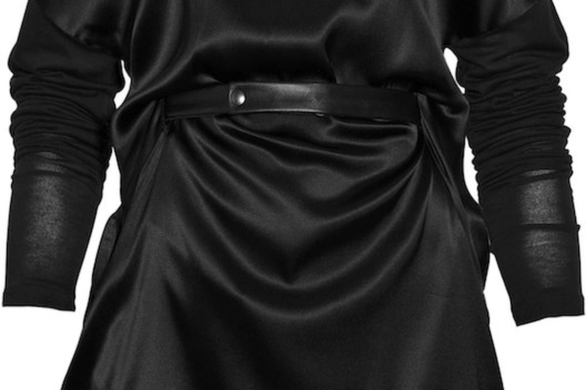 This belted silk-blend dress is $226.25 (orig. $905)
