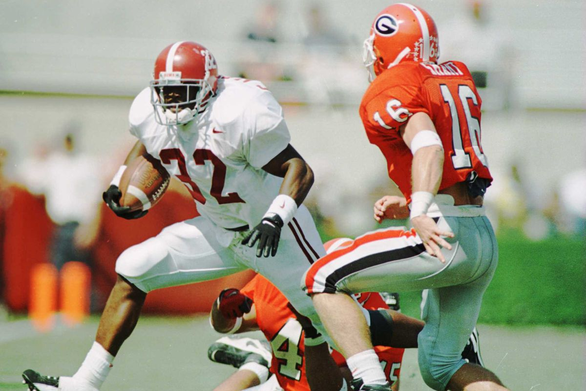 Kirby Smart knows how to play between the hedges.