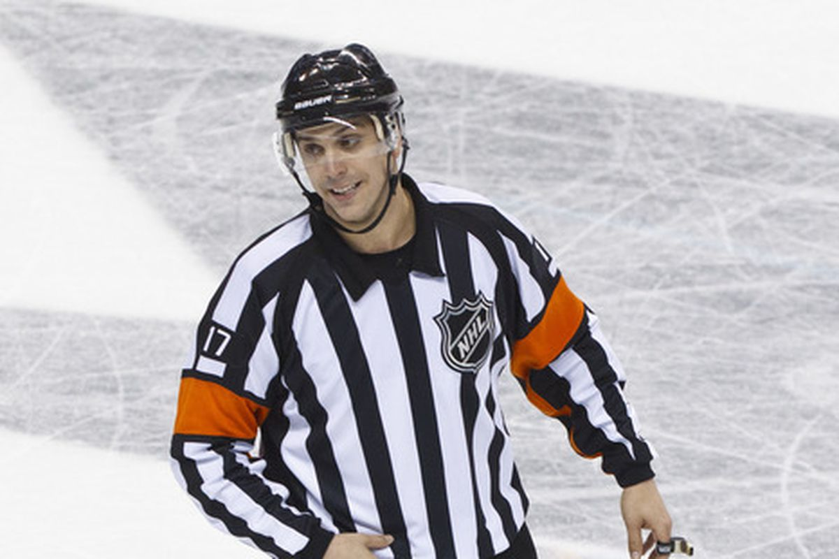 No one told this dude that the lockout ended. Photo credit