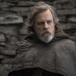 """Mark Hamill as Luke Skywalker in """"Star Wars: The Last Jedi."""""""