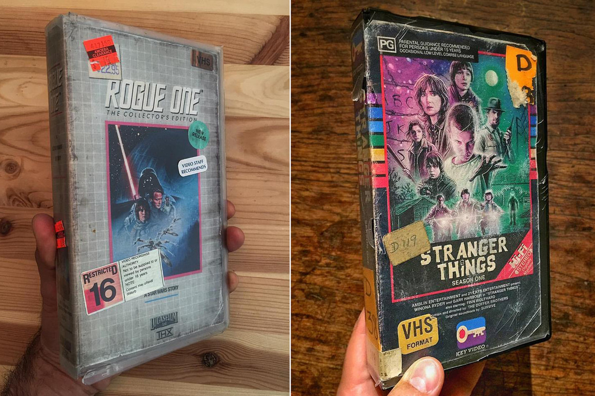 Artist Creates Awesome Vhs Boxes For Stranger Things