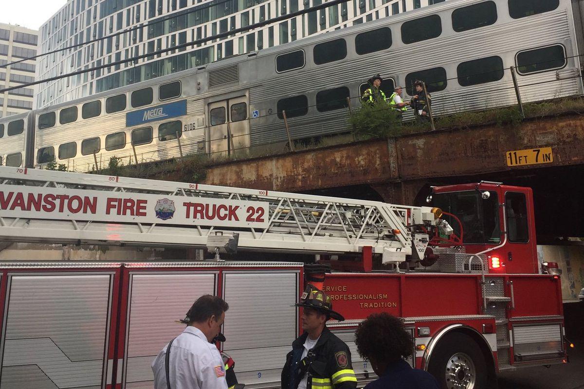 Pedestrian struck, killed by Metra train in Evanston