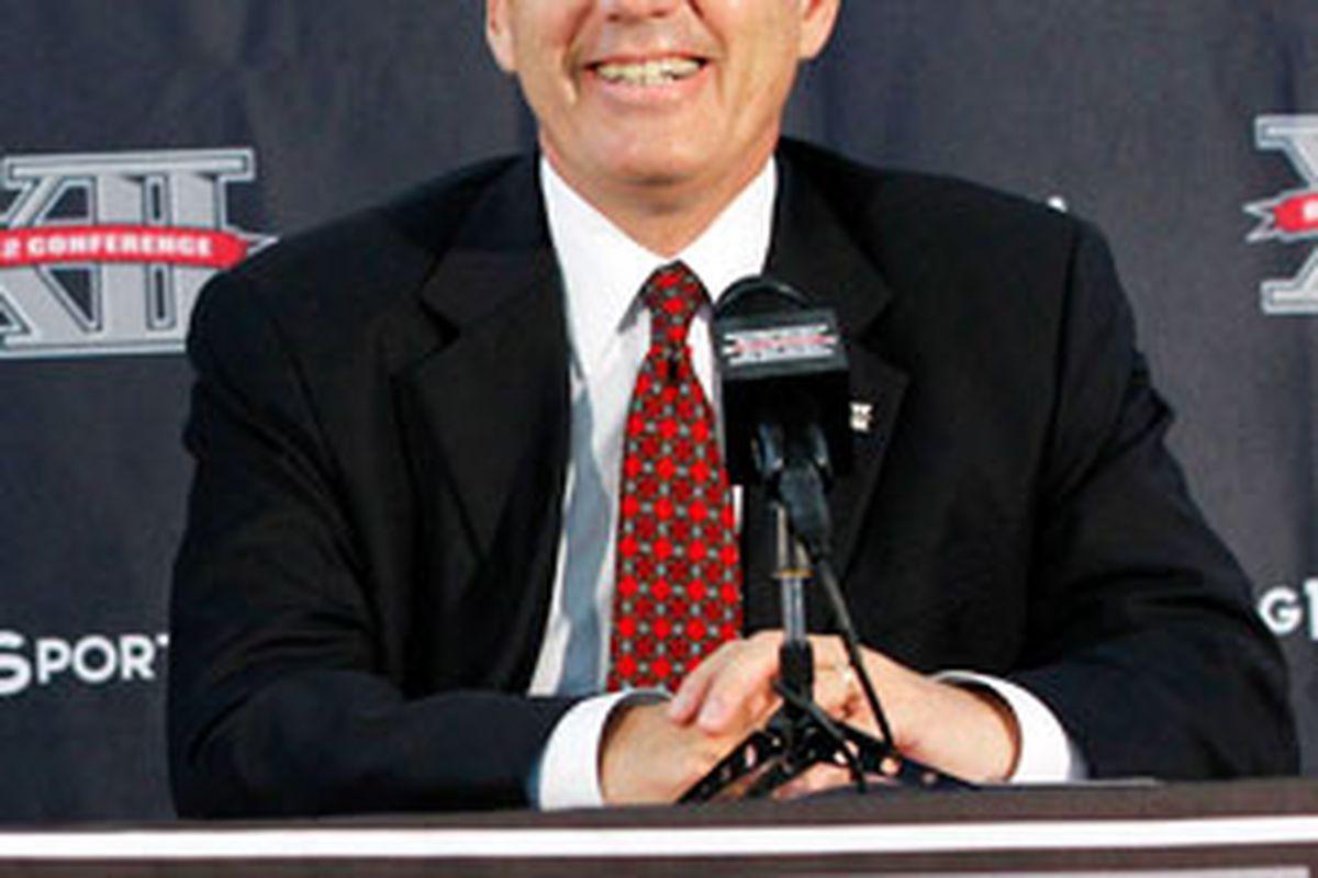 Big 12 Commissioner Bob Bowlsby