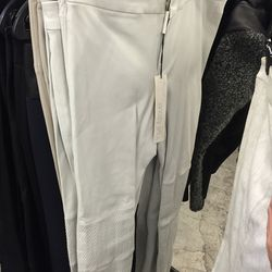Leather pants, $325