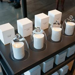 """Candles from the collaboration with <a href=""""http://1229scent.com/""""><b>12.29</b></a>"""