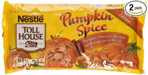 Nestle Toll House Pumpkin Spice morsels