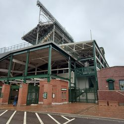 Northwest corner of the ballpark