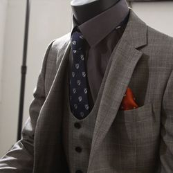 """A vest is to a men what a corset is to women: a garment that slims out your love handles and suppresses your tummy. The best part of a vest is that it can sometimes take the place of a suit jacket, especially in Miami. """"We do have quite a few customizatio"""