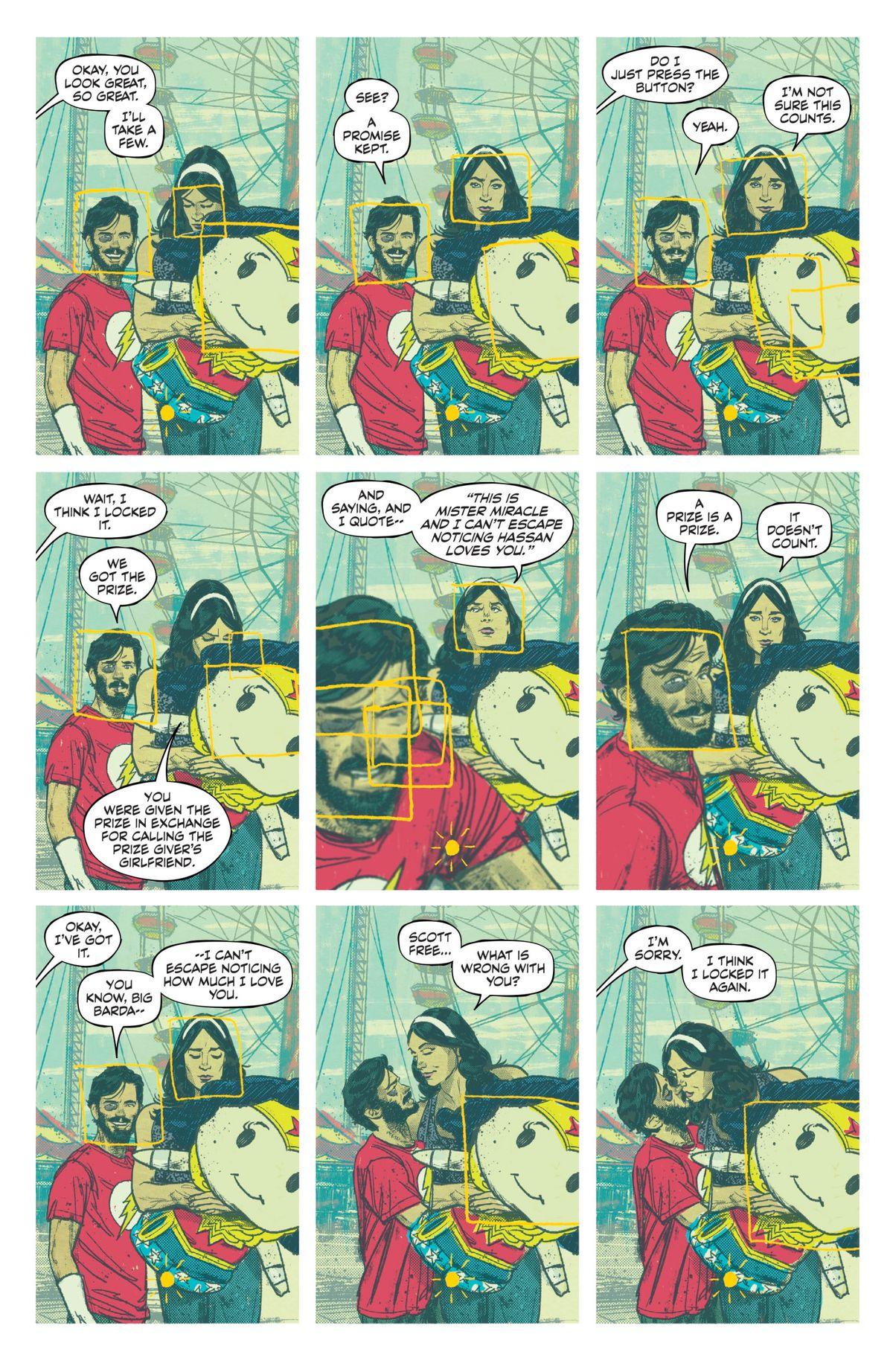 汤姆金的奇迹先生#5,注释