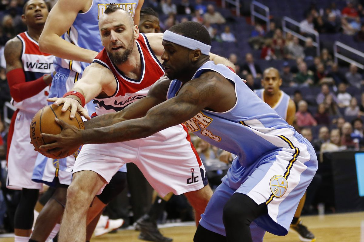 The Denver Nuggets lost the fight early, getting blown out in Washington D.C.