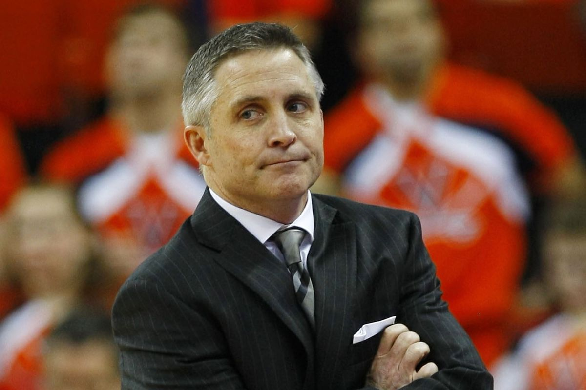 Some of you like giving Coach Gregory this look. Not me, though.