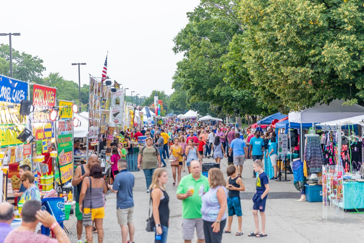 Edison Fest is the biggest event in Edison Park each year. The street fair is usually held in August. | Provided
