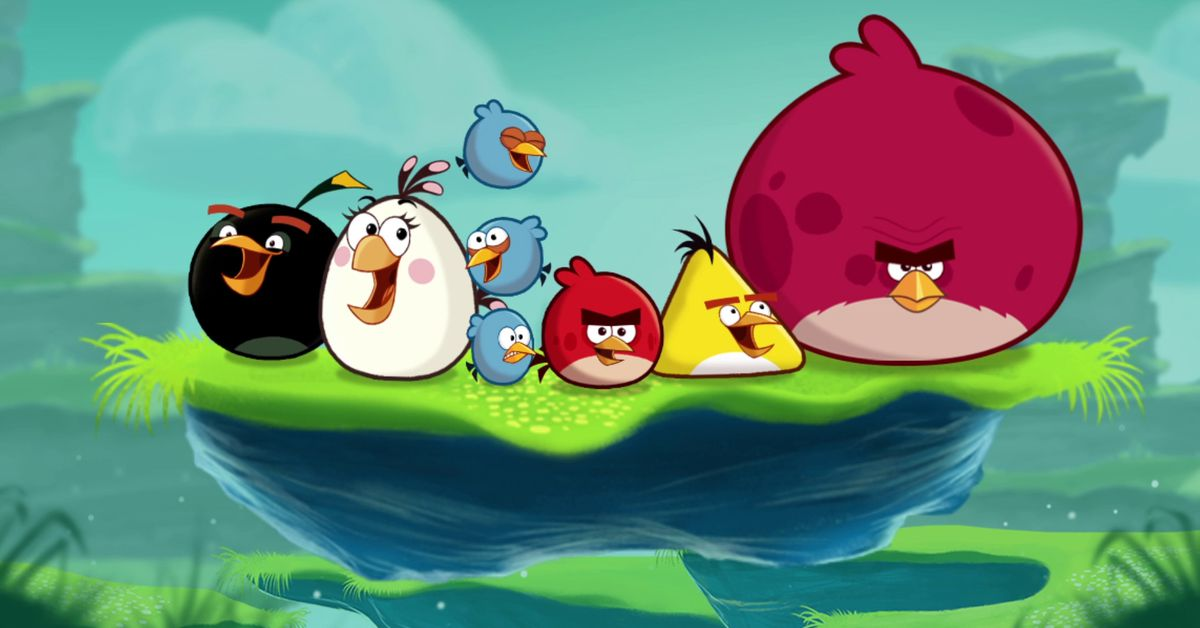 Concrafter Angry Birds