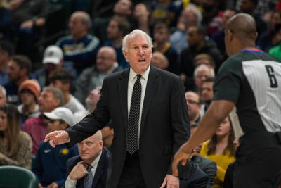 NBA: San Antonio Spurs at Indiana Pacers