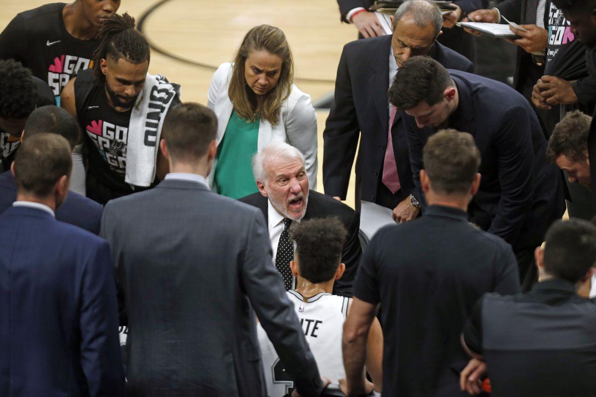 Denver Nuggets v San Antonio Spurs-Game Four