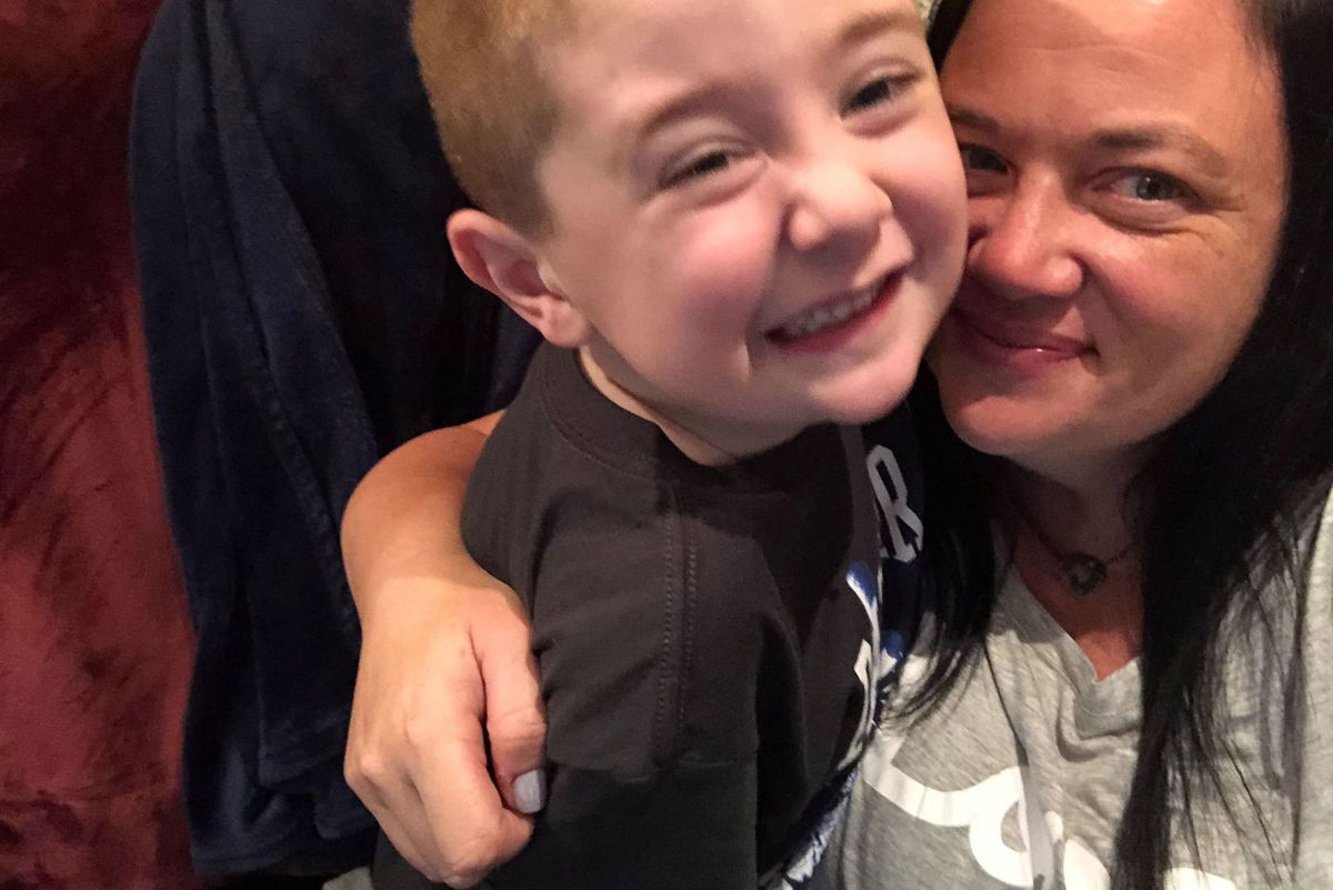 Jennifer Laughlin is concerned her six-year-old son, Alex, will regress if he doesn't get his special education services for five weeks.