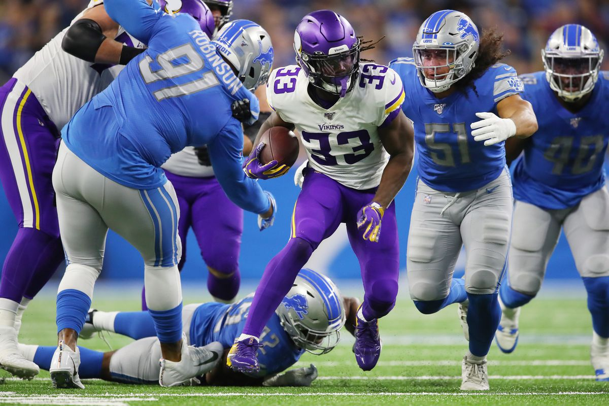 Detroit Lions Week 7 snap counts: Attempts to stack the box failed vs. Vikings