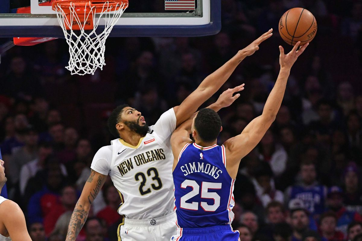 6221d761516b How the Anthony Davis news might impact the Sixers - Liberty Ballers