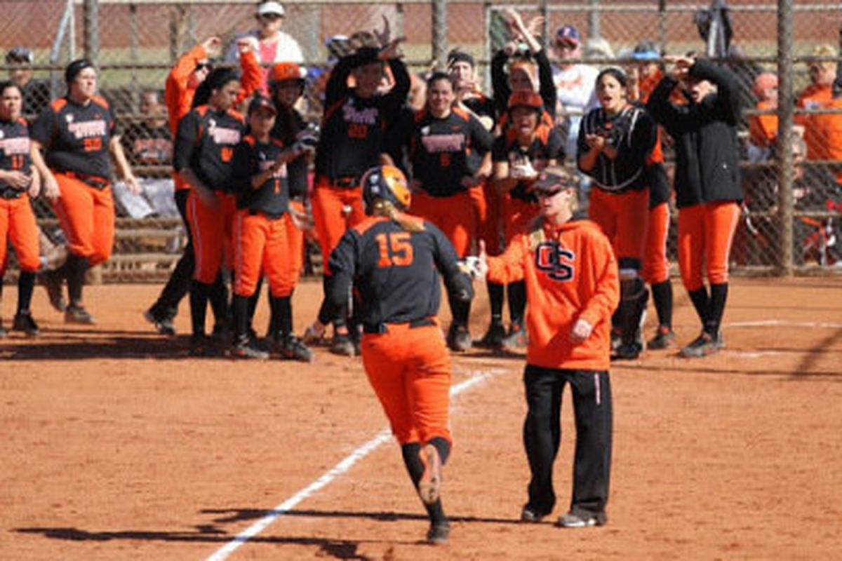 #24 OSU softball heads into Pac-12 play this Thursday (from OSU Athletic site: http://www.osubeavers.com/sports/w-softbl/)