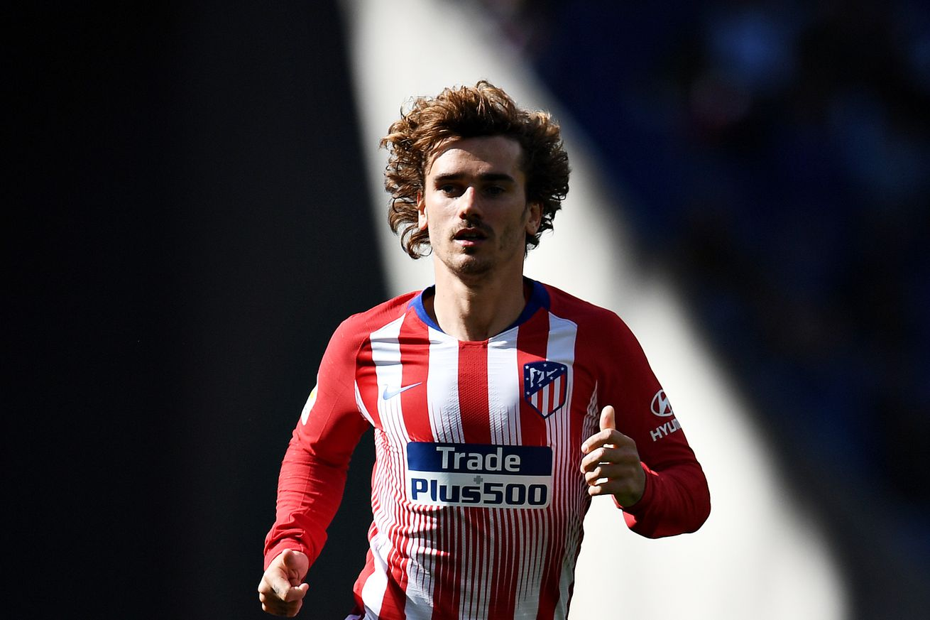 Atlético Madrid announce Antoine Griezmann is leaving